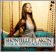 Shontelle ft. Akon 'Stuck With Each Other'